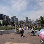 大阪中之島のバラ園